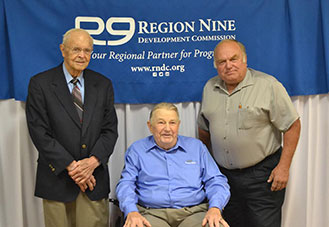 2016-10-14 Region Nine Retiring Commissioners
