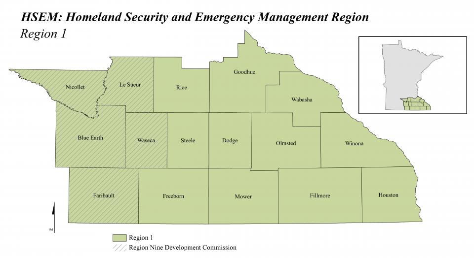 Emergency Management Region Nine